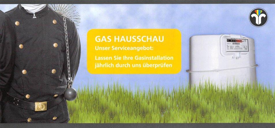 Gas Hausschau nach DVGW-TRGI
