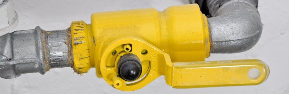 Jährliche Gas Hausschau nach DVGW-TRGI